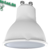 Ecola Light Reflector GU10  LED  5,0W 220V GU10 4200K матовое стекло 58х50