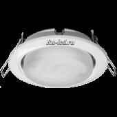 Ecola Light GX53 H4 светильник белый встр. без рефл. с лампой  GX53  9W Tablet 220V GX53 2700K 38x106