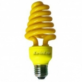 Ecola Spiral Color 20W 220V E27 Yellow Желтый 148x60