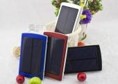 внешний аккумулятор с солнечной батареей 100 000 Mah