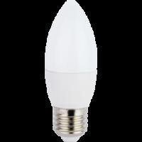 Ecola candle   LED Premium  7,0W 220V E27 6000K свеча (композит) 103x37