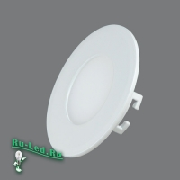 102R-3W-6000K Cветильник круглый LED, 3W