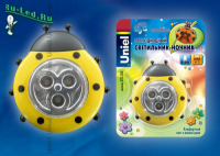 DTL-354 Божья Коровка/Yellow/3LED/3AAA