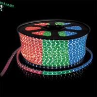 Ecola LED strip 220V STD  9,6W/m IP68 16x8 120Led/m RGB разноцветная лента 100м.