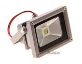 Светодиодный прожектор 10 Вт, Холодный белый