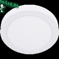 Ecola LED downlight накладной Круглый даунлайт с драйвером 18W 220V 6500K 220x32