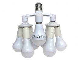Мощные светодиодные и энергосберегающие лампы
