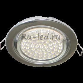 встроенные светильники отзывы наполнит ваш дом или офис светом и уютом Ecola GX53 H4 Downlight without reflector_chrome (светильник) 38x106 - 10 pack (кd102)