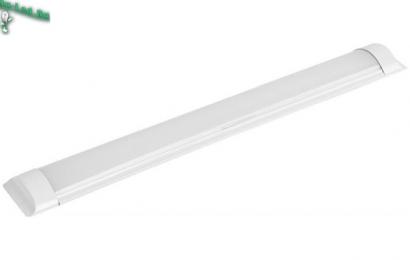 Светодиодный светильник эконом ЖКХ  для объектов социальной инфраструктуры Ecola LED linear IP20 линейный светодиодный светильник (замена ЛПО) 20W 220V 2700K 600x75x25
