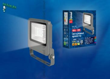 какой прожектор купить для подсветки ландшафта, на фасадах зданий ULF-F17-10W/NW IP65 195-240В SILVER