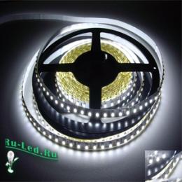 светодиодная подсветка натяжного потолка прекрасно будет смотреться в офисах Ecola LED strip PRO 11W/m 12V IP20 8mm 60Led/m 6000K 20Lm/LED 1200Lm/m светодиодная лента на катушке 5м
