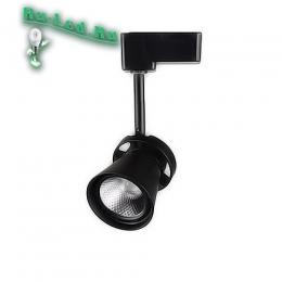 трековые потолочные светильники - это экономная и безопасная замена галогенного и люминесцентного освещения 035-12W-4000K-BK Трековый светильник (Нейтральный белый)