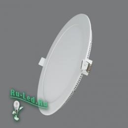 светильник светодиодный круглый цена и и высокие технологии вместе с хорошим качеством бывают доступны 102R-18W-4000K Cветильник круглый LED, 18W