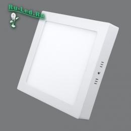 квадратный светильник купить по доступной цене и при этом получить товар высокого качества и производительности 702SQ-18W-3000K Светильник накладной,квадратный,LED,18W