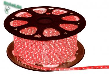 светодиодные ленты 5050 smd led strip 220V STD 14,4W/m IP68 14x7 60Led/m Red красная лента на катушке 50м