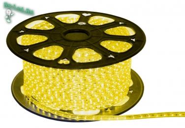 светодиодная лента купить в Москве Ecola LED strip 220V STD 14,4W/m IP68 14x7 60Led/m Yellow желтая лента на катушке 100м