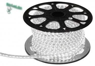 светодиодная лента white Ecola LED strip 220V STD 4,8W/m IP68 12x7 60Led/m 4200K 4Lm/LED 240Lm/m лента на катушке 100м