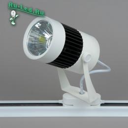 трековые светильники в интерьере являются одной из «визитных карточек» нашего времени 03-15W LED COB 6000K Трековый светильник (Холодный белый)