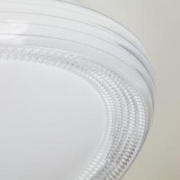 Потолочный светодиодный светильник Eurosvet Weave 40012/1 LED белый