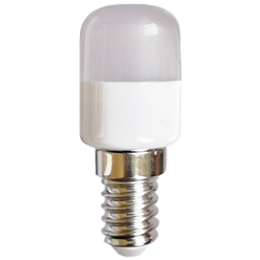 Ecola T25 LED Micro  1,5W E14 4000K капсульная 270° матовая (для холодил., шв. машинки и т.д.) 55x22 mm