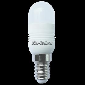 B4TW33ELC лампы - цоколь t25 ecola t25 led micro 3,3w 220v e14 2700k 270° матовая (керамика) 72x23
