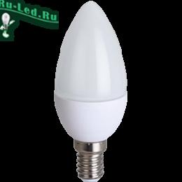 лампа 220v e14 свеча очень эстетично имитируя горящую свечу Ecola candle LED 8,0W 220V E14 6000K свеча (композит) 100x37