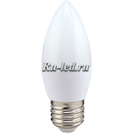 Лампа e27 свеча приобретайте для удобства работы или отдыха Ecola candle LED 8,0W 220V E27 2700K свеча (композит) 100x37