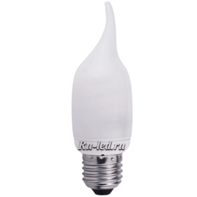 C7NW11ECC лампы - свечи ecola candle 11w eic/d 220v e27 2700k свеча на ветру 127x38 увв
