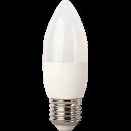 Ecola Light candle   LED  7,0W 220V E27 2700K свеча (композит) 103x37