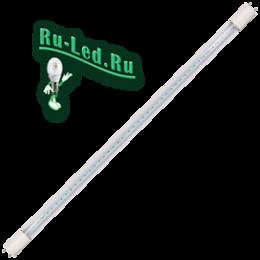 Линейная led лампа не мигает и помогает сберечь нервы и зрение коллектива Ecola T8 Premium G13 LED 12,5W 220V 6500K с поворотными цоколями (прозрачное стекло) 605x28 (упак.инд.цв./8/24)