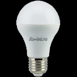 Купить светодиодную лампу 220 вольт для замены обычной лампы накаливания Ecola classic LED 12,0W A60 220-240V E27 4000K (композит) 110x60
