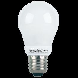 светодиодная лампа led 12w наполнит помещение приятным естественным светом Ecola classic LED Premium 12,0W A60 220-240V E27 4000K 360° (композит) 110x60