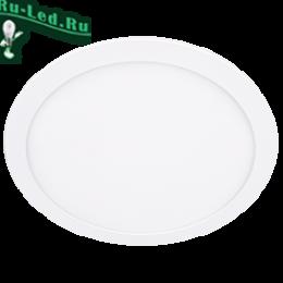 встраиваемые светильники 220 - доступная цена, эргономичный дизайн и легкость в установке Ecola LED downlight встраив. Круглый даунлайт с драйвером 24W 220V 6500K 300x20