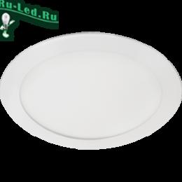 встраиваемые светильники для потолка купить, чтобы эффективно озарить любое пространство Ecola LED downlight встраив. Круглый даунлайт с драйвером 15W 220V 6500K 195x20