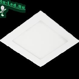встраиваемые светильники для потолка светодиодные купить для эксплуатации при любых интерьерных решениях Ecola LED downlight встраив. Квадратный даунлайт с драйвером 4W 220V 4200K 85x85x20