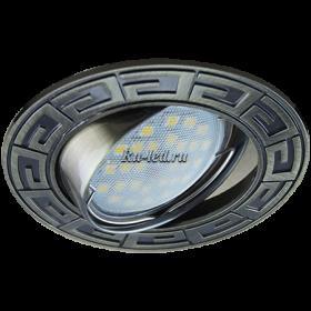 купить встроенный светильник Москва Ecola MR16 DL110 GU5.3 Светильник встр. литой поворотный Антик Черненая Бронза 24x86