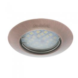 светильник точечный светодиодный встраиваемый купить Ecola Light MR16 DL92 GU5.3 Светильник встр. выпуклый Черненая Медь 30x80 - 2pack (кd74)