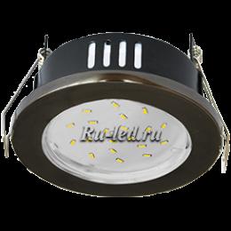 gx53 светильник черный влагозащищенный - не заменим для освещения сауны или бани Ecola GX53 H9 защищенный IP65 светильник встраив. без рефл. черный хром 98х55