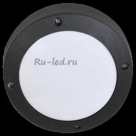 светильник накладной gx53 Ecola GX53 LED B4139S светильник накладной IP65 матовый Круг алюмин. 1*GX53 Черный 145x145x65
