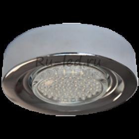 Накладные точечные светильники купить Ecola GX53 FT3073 Накладной Широкий Хром 32х130
