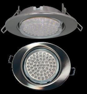 светодиодные потолочные светильники 220в Ecola GX53 FT3238 светильник встр. без рефл. Эллипс хром 41x126x106 (к+)