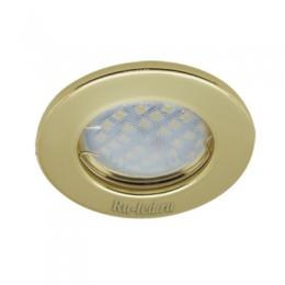 купить светодиодные светильники Ecola Light MR16 DL90 GU5.3 Светильник встр. плоский Золото 30x80 - 2pack (кd74)