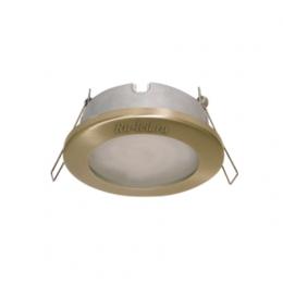 встраиваемые светильники ванна Ecola MR16 DL80 GU5.3 светильник встр. защищенный IP65 золото 32x93