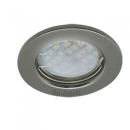 светильники встроенные встраиваемые светодиодные Ecola Light MR16 DL90 GU5.3 Светильник встр. плоский Черный Хром 30x80 - 2pack (кd74)