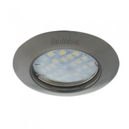 светильник светодиодный потолочный встраиваемый круглый Ecola Light MR16 DL92 GU5.3 Светильник встр. выпуклый Черный Хром 30x80 - 2pack (кd74)