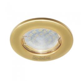Точечный светильник Ecola Light MR16 DL90 GU5.3 Светильник встр. плоский Перламутровое золото 30x80 - 2pack (кd74)