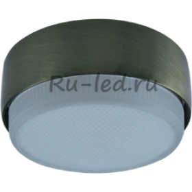 Купить точечные светильники для натяжных потолков Ecola GX53 FT8073 светильник накладной черненая бронза 25x82
