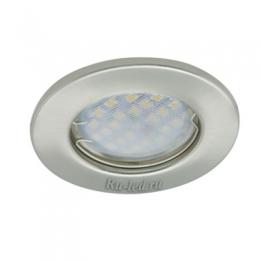 встраиваемые светильники Ecola Light MR16 DL90 GU5.3 Светильник встр. плоский Сатин-Хром 30x80 - 2pack (кd74)