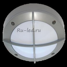 светильник светодиодный накладной круглый Ecola GX53 LED B4143S светильник накладной IP65 матовый Круг с решеткой алюмин. 1*GX53 Серый 145x145x65