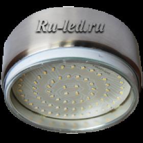 светодиодной накладный светильник вас выручит, если у вас дома недостаточно света Ecola GX70 G16 Светильник Накладной Сатин-хром (satin-chrome) 42x120